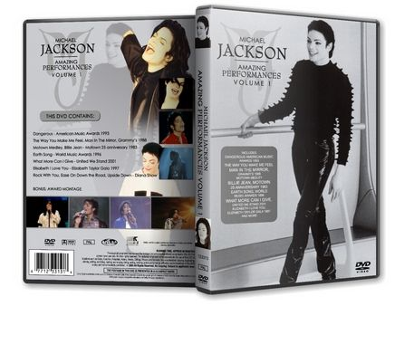 Michael Jackson : Amazing Performances Vol 1 MJDVDSHOP
