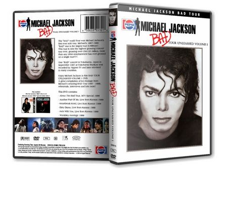 Michael Jackson : Bad Tour Unleashed Vol 1 MJDVDSHOP