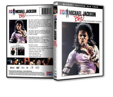 Michael Jackson : Bad Tour Unleashed Vol 2 MJDVDSHOP