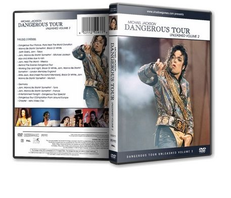 Michael Jackson : Dangerous Tour Unleashed Volume 2 Michaelvideos.ro
