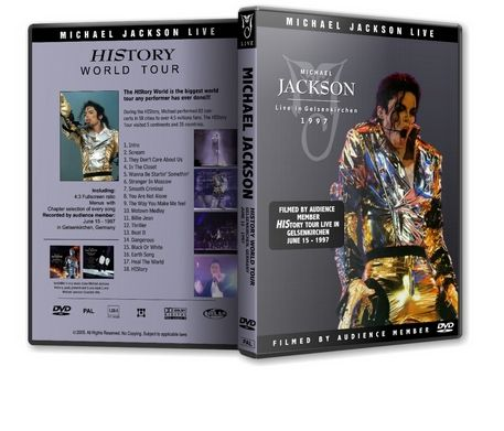 Michael Jackson : History Tour Live In Gelserkirchen Michaelvideos.ro