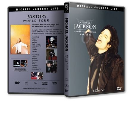Michael Jackson : History Live Around The World MJDVDSHOP