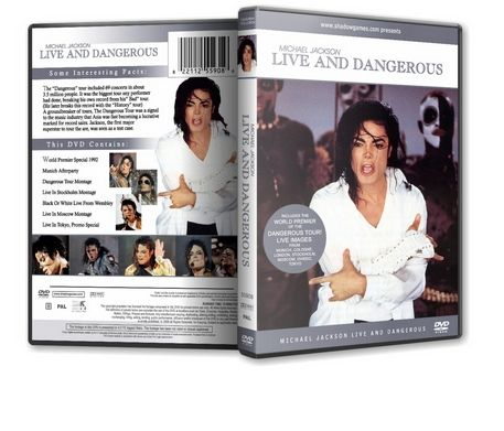 Michael Jackson : Live And Dangerous MJDVDSHOP