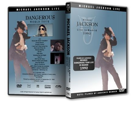 Michael Jackson : Dangerous Tour Live In Madrid Michaelvideos.ro