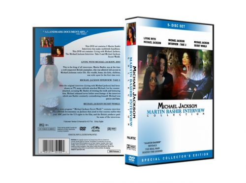 Michael Jackson : The Interview Collection 5 Disc Set Shadowgames.com
