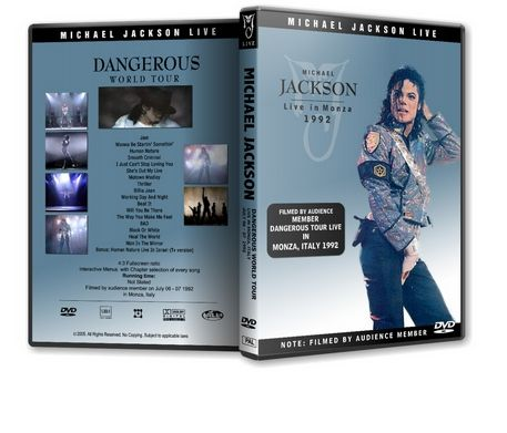 Michael Jackson : Dangerous Tour Live In Monza Michaelvideos.ro Version 2