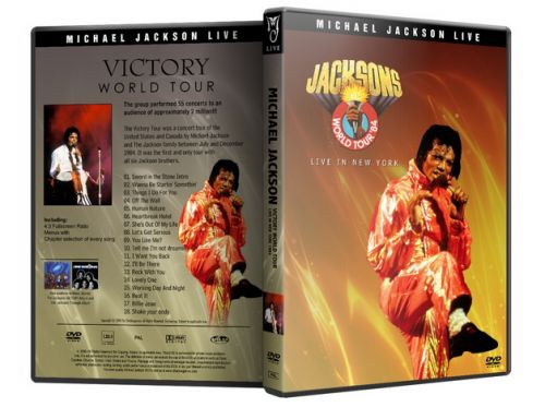 Michael Jackson : Victory Tour Live In New York Michaelvideos.ro
